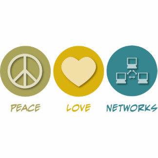 Peace Love Networks Photo Sculpture