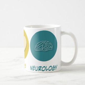 Peace Love Neurology Coffee Mug