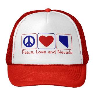 Peace Love Nevada Cap
