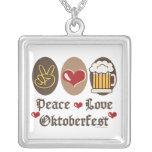 Peace Love Oktoberfest Necklace
