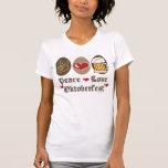 Peace Love Oktoberfest Spaghetti Tank Top