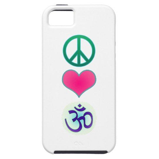 Peace, love, om Iphone5 case