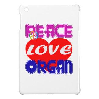 Peace Love Organ iPad Mini Case