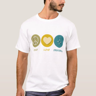 Peace Love Orienteering T-Shirt