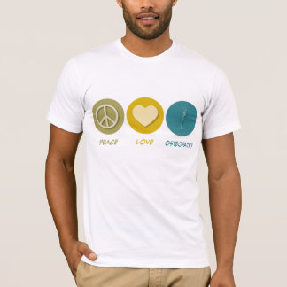 Peace Love Osteopathy T-Shirt