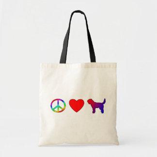 Peace Love Otterhounds Bags