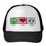 Peace Love Owls Trucker Hat