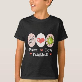 Peace Love Paintball Kids T-shirt