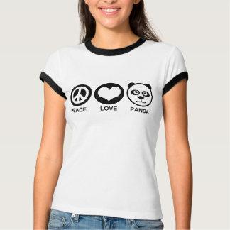 Peace Love Panda Tee Shirts