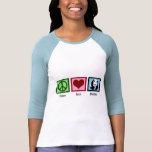 Peace Love Pandas Shirts