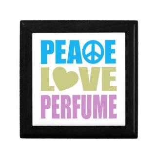 Peace Love Perfume Jewelry Box