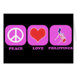 Peace Love Philippines Cards