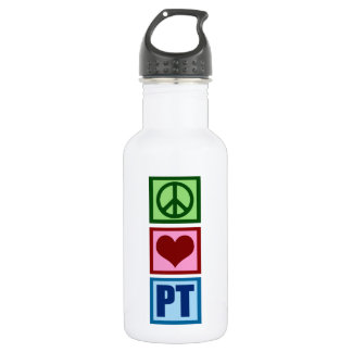 Peace Love Physical Therapist 532 Ml Water Bottle