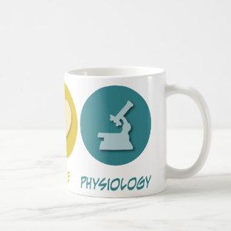 Peace Love Physiology Coffee Mugs