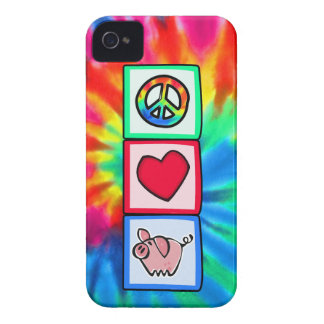 Peace, Love, Pigs Case-Mate iPhone 4 Cases