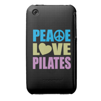 Peace Love Pilates iPhone 3 Case-Mate Cases