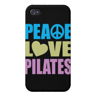 Peace Love Pilates Cases For iPhone 4