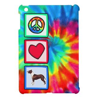 Peace, Love, Pitbulls iPad Mini Cover