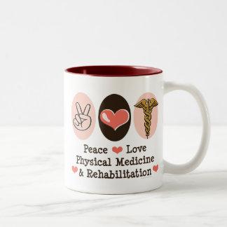 Peace Love PM R Mug