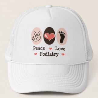 Peace Love Podiatry Podiatrist Hat