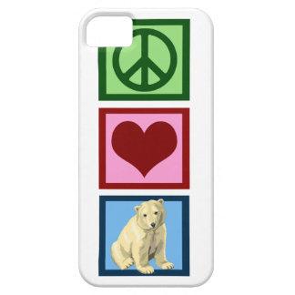 Peace Love Polar Bears iPhone 5 Covers