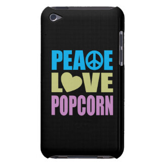 Peace Love Popcorn iPod Touch Cases
