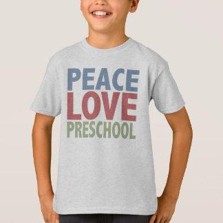 Peace Love Preschool T-Shirt