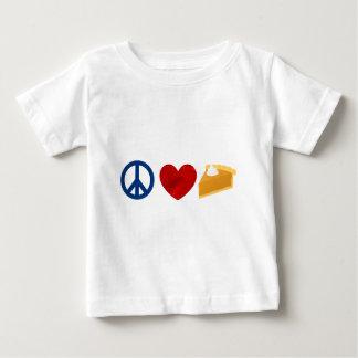 Peace, Love, Pumpkin Pie Baby T-Shirt