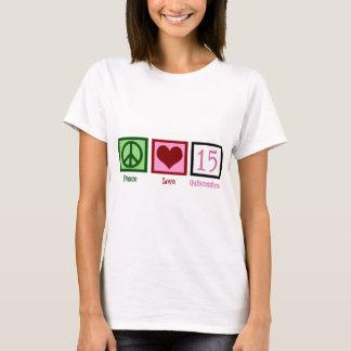 Peace Love Quinceañera T-Shirt