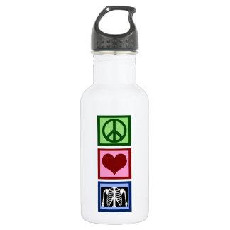 Peace Love Radiology 532 Ml Water Bottle