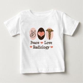Peace Love Radiology Baby T-shirt