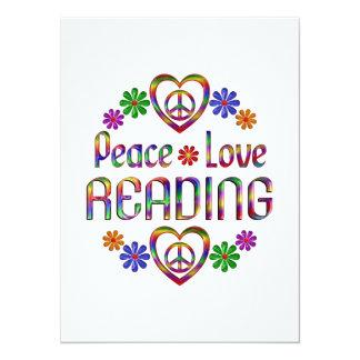 Peace Love Reading Announcements