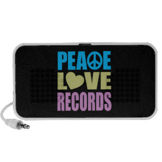 Peace Love Records iPhone Speaker
