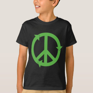 PEACE & LOVE & RECYCLING T-Shirt