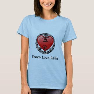 Peace Love Reiki-option 2 T-Shirt