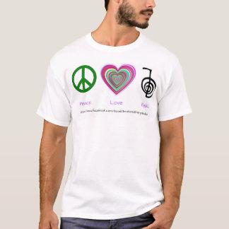 Peace-Love-Reiki T-Shirt
