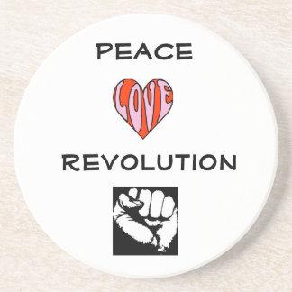 Peace Love Revolution Coaster