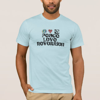 Peace Love Revolution T-Shirt