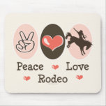 Peace Love Rodeo Mousepad