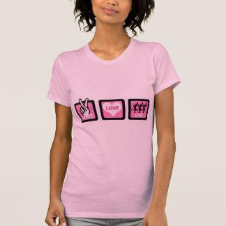 Peace love run tshirt