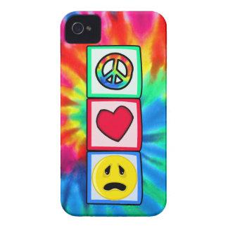 Peace Love Sadness iPhone 4 Cover