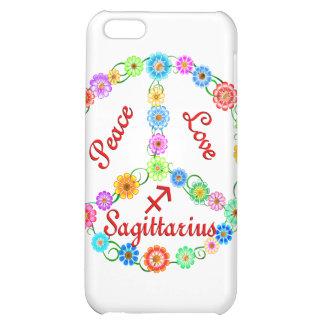 Peace Love Sagittarius iPhone 5C Cover