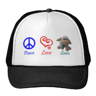 Peace, Love, Sam the Sheep Cap