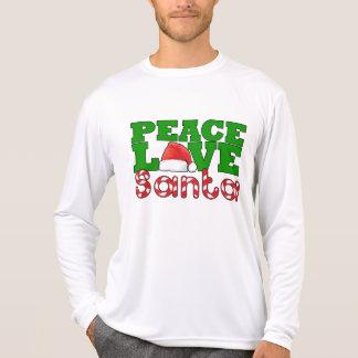Peace Love Santa Shirt