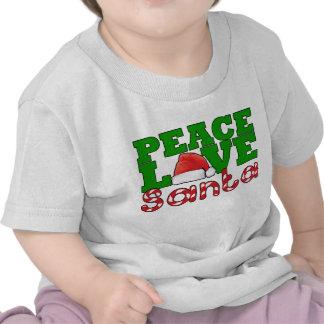 Peace, Love & Santa Tshirt
