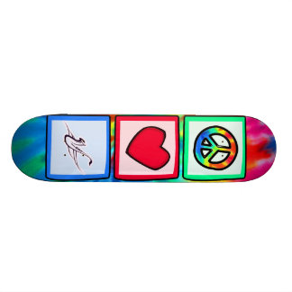 Peace, Love, Saxophones Skate Board Decks