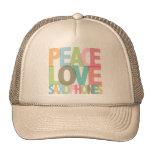 Peace Love Saxophones Tees & Gifts