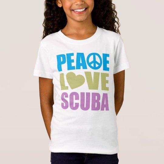 Peace Love Scuba T-Shirt