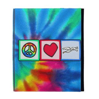 Peace, Love, Seagulls iPad Cases