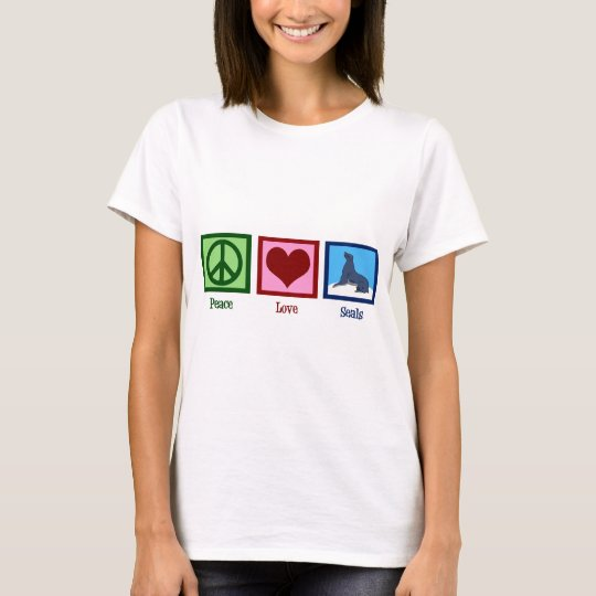 Peace Love Seals T-Shirt